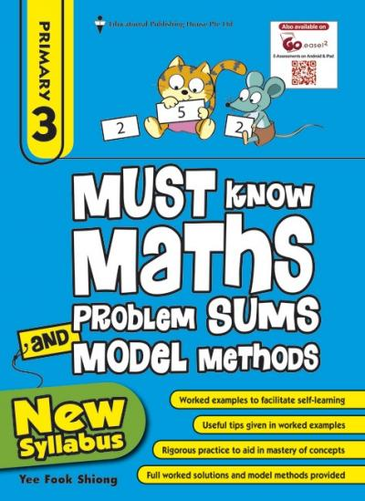 P3 Must Know Maths Problem Sums and Model Methods