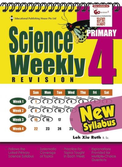 P4 Science Weekly Revision